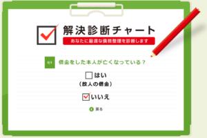 ひかり法律事務所の解決診断チャート4